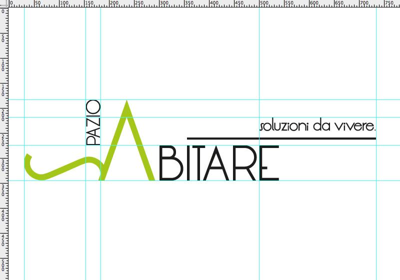 Spazio abitare brand logo design infinitodesign for Abitare design studio