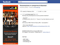 Baretto La Serie – FB Evento